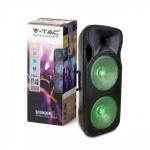 150W Prijenosni Bluetooth zvučnik s 2 mikrofona i daljinskim upravljačem, 2200 mAh pakiranje