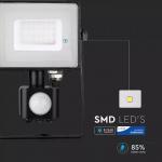 30W pir senzor reflektor crno tijelo 6400K samsung čip 5 GODINA GARANCIJE