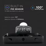 30W pir senzor reflektor crno tijelo 6400K samsung čip 5 GODINA GARANCIJE 3