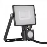 30W pir senzor reflektor crno tijelo 6400K samsung čip 5 GODINA GARANCIJE 4