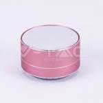 3426-metalni-bluetooth-zvucnik-sa-ugradenim-mikrofonom-i-utorom-za-tf-karticu-400-mah-rozi