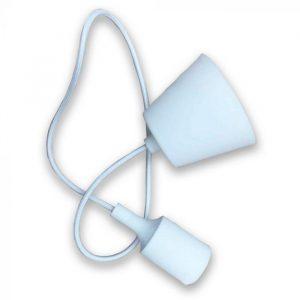 Silikonska visilica-bijela