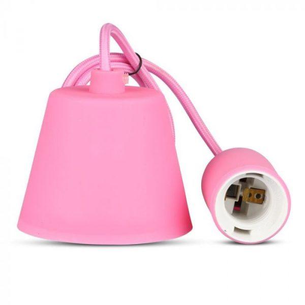 Silikonska visilica-roza
