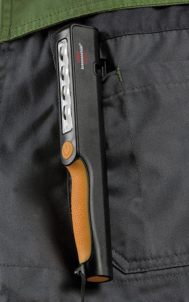 Punjiva džepna svjetiljka sa integriranim magnetom 200+150lm 6500K