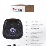 40W Prijenosni zvučnik s mikrofonom i daljinskim upravljačem, 3600 mAh 1
