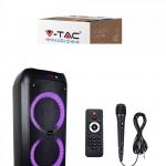 40W Prijenosni zvučnik s mikrofonom i daljinskim upravljačem, 3600 mAh 4