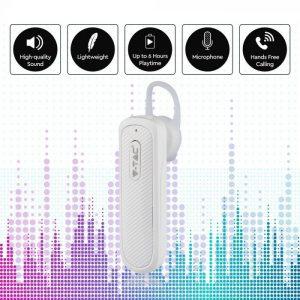 Headset - Bluetooth slušalica 70mAh, bijela