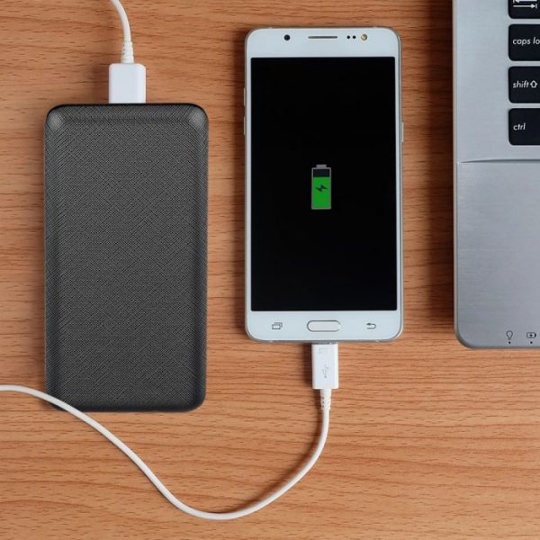 20000 Mah Power Bank, crni