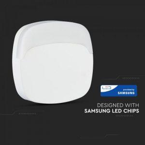LED orijentacijsko svjetlo 0,5W, 3000K Samsung čip, četvrtasto