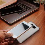 10000 Mah Power Bank sa digitalnim ekranom, bežično punjenje, bijeli