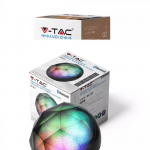 LED RGB prijenosni Bluetooth zvučnik 3W, AUX, utor za TF karticu, 1200 mAh pakiranje