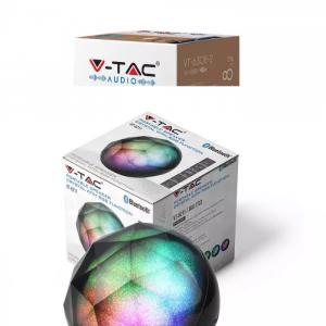 LED RGB prijenosni Bluetooth zvučnik 3W, AUX, utor za TF karticu, 1200 mAh