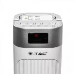 Podni ventilator s digitalnim zaslonom i daljinskim upravljačem 55W 3 brzine vrtnje 95cm bijeli 6
