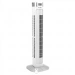 Podni ventilator s digitalnim zaslonom i daljinskim upravljačem 55W 3 brzine vrtnje 95cm bijeli 7