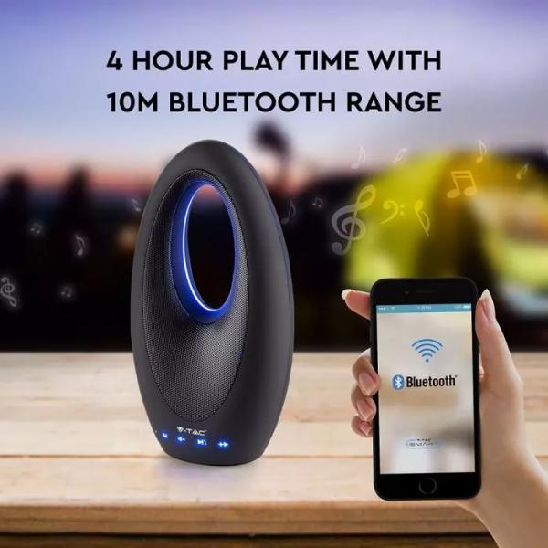 Prijenosni Bluetooth zvučnik 5W, AUX, utor za TF karticu, 1200 mAh
