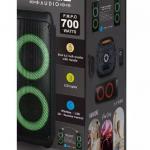 Punjivi zvučnik 35W s daljinskim upravljačem i mikrofonom TWS funkcija pakiranje