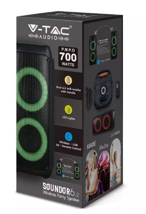 Punjivi zvučnik 35W s daljinskim upravljačem i mikrofonom TWS funkcija