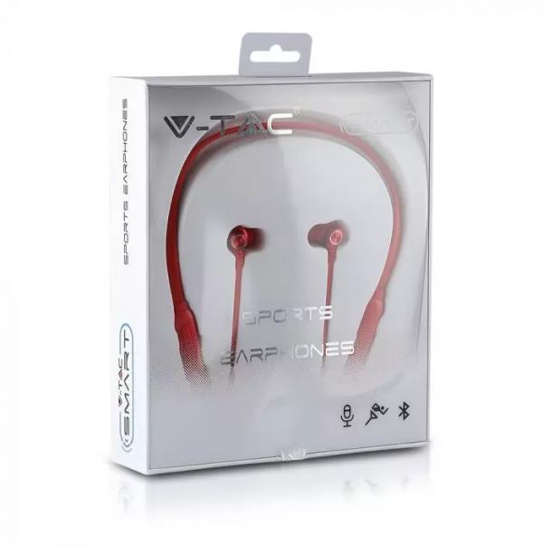 Sportske Bluetooth slušalice, crvene