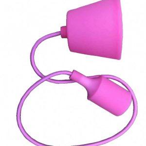 Silikonska visilica roza