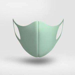 Maska softy MistGreen