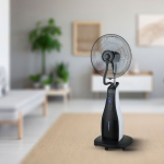 Ventilator s raspršivačem vodene maglice na daljinsko upravljanje 80W 1