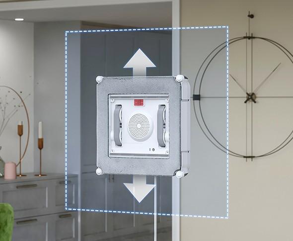 Perač prozora Windbot 880 pomoću spot načina čišćenja daje posebnu pozornost najzahtjevnijim područjima