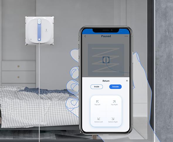 Perač prozora Windbot 920 ima mogućnost kontrole putem mobilne aplikacije
